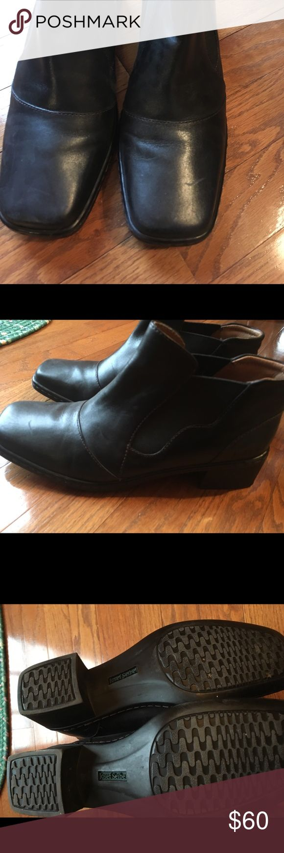 Josef Seibel ankle boots. Excellent condition Josef Seibel ankle boots. Excellent condition, size 40 which is 9-9.5 euro. Josef Seibel Shoes Ankle Boots & Booties
