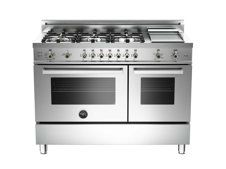 The ultimate oven! Bertazzoni 48 6-Burner + Griddle, Gas Double Oven