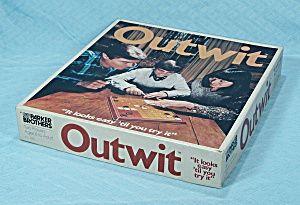 Outwit Game, Parker Brothers, 1978: 1978 Vintage, Secret Underground, Vintage Games, Brother Outwit, Unique Games, Underground Playrooms, Outwit Games, Parker Brother, Pre 1995