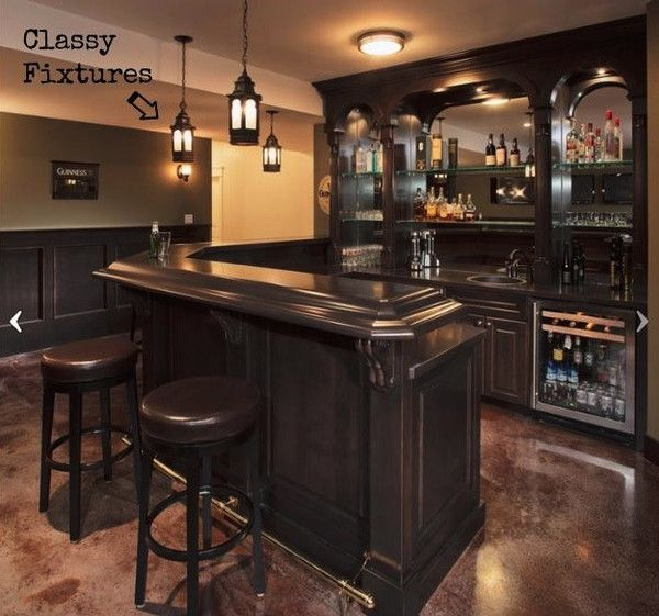 Home bars are as different and varied as the people who own them. The best home bars have at least a few of these essential features. Look and learn: