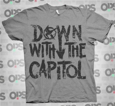 down with the capitol Jogos Vorazes