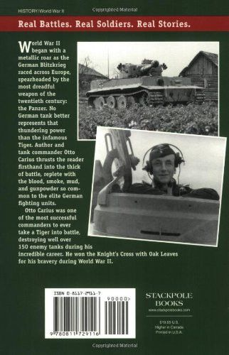 Tigers in the Mud: The Combat Career of German Panzer Commander Otto Carius (Stackpole Military Hist