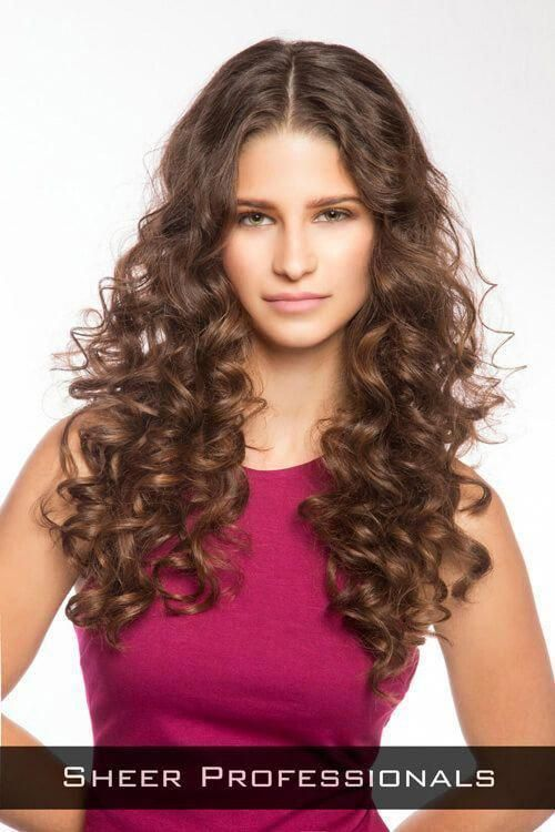Gorgeous long hairstyles for round faces.. #longha…