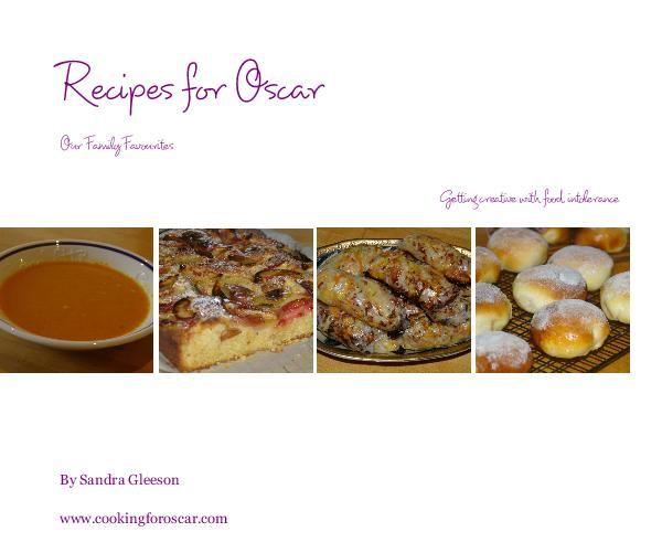 Cooking for Oscar: Recipes for Oscar (Paperback edition)