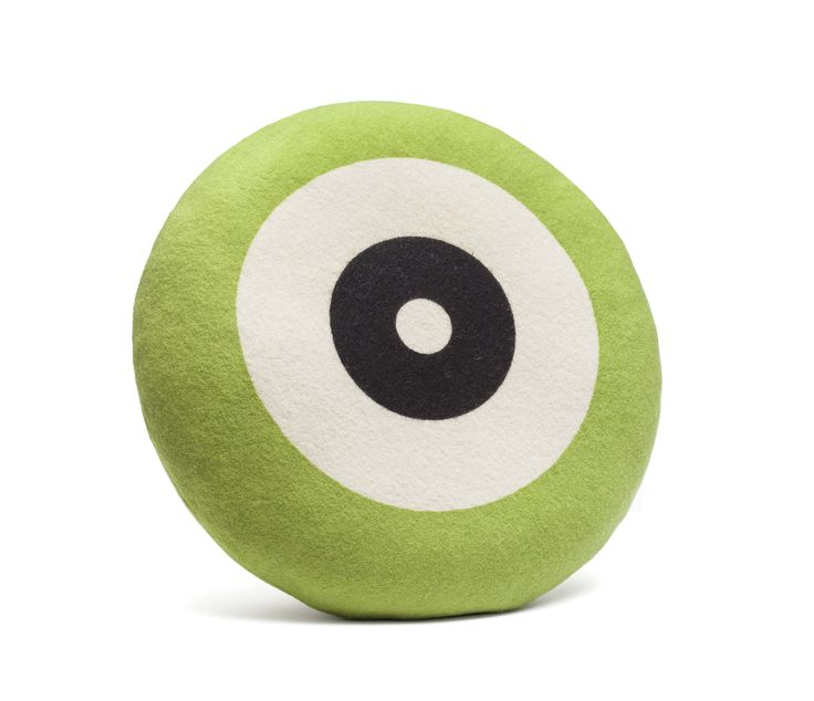 Wendt Design pude – Dot i grøn farve - Tinga Tango Designbutik