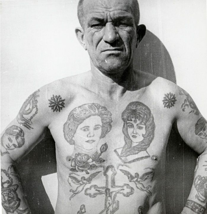 Decoding Russian criminal tattoos – in pictures | Art and design | The Guardian