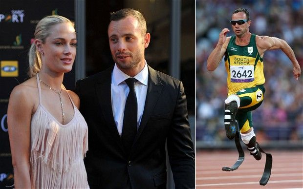 #Pistorius from hero to murderer, with previous issues of a 'domestic nature'