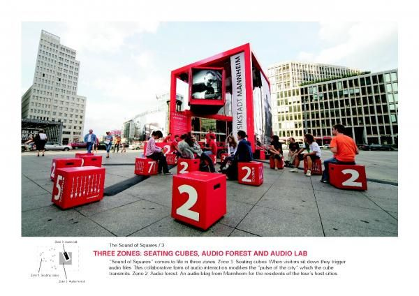 The City of Mannheim: Sound of the Squares, The City Of Mannheim, Atelier Markgraph, Stadtmarketing Mannheim, Print, Outdoor, Ads