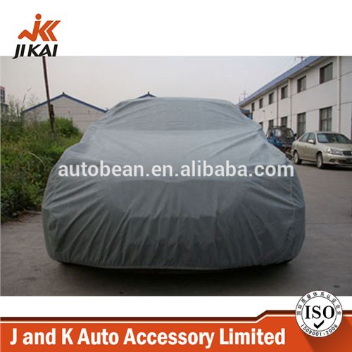 Car body cover fabric thickening nonwoven quilted rain waterproof outdoor car cover tent from JandKauto123 on YYUber.com