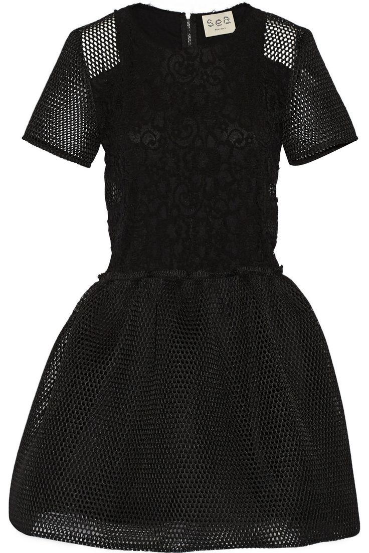 Black dress in dead sea zones