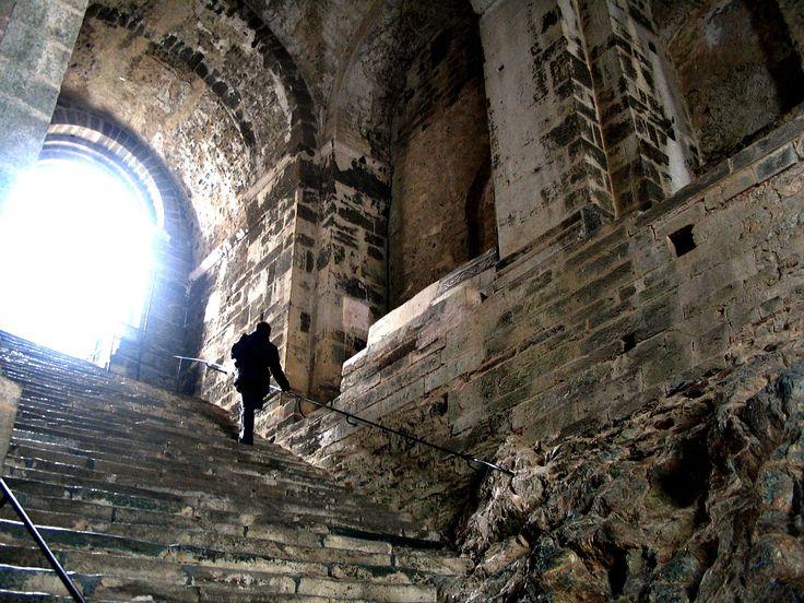 Feel humble as you enter the Sacra di San Michele in the Val di Susa near Avigliana