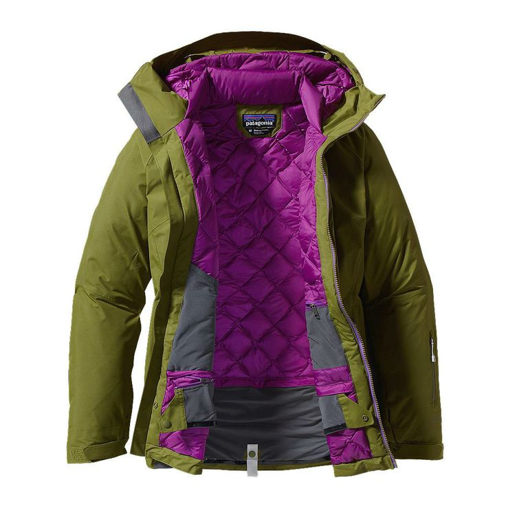 Patagonia Women's Primo Down Jacket with Gore-Tex® for Skiing and Snowboarding