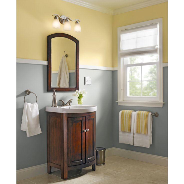 Shop allen + roth Moravia 30-in H x 22-in W Sable Bathroom ...