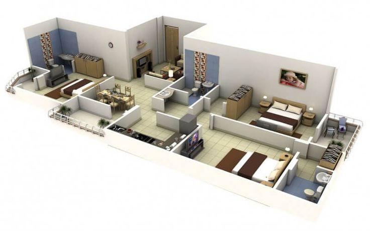 Memiliki rencana untuk membangun rumah dengan 3 kamar? Masih mencari desain rumah minimalis 3 kamar tidur? Kami memiliki beberapa contoh untuk anda baca