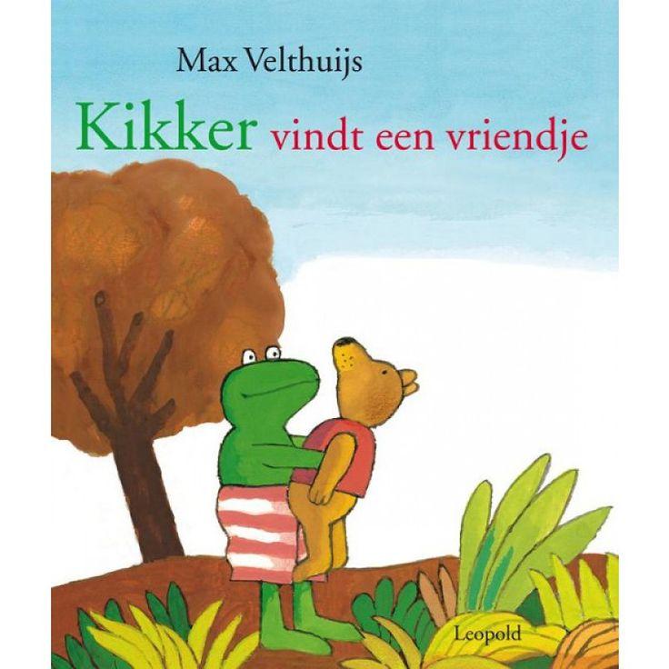 Kikker vindt een vriendje - Max velthuijs - prentenboek - vriendschap