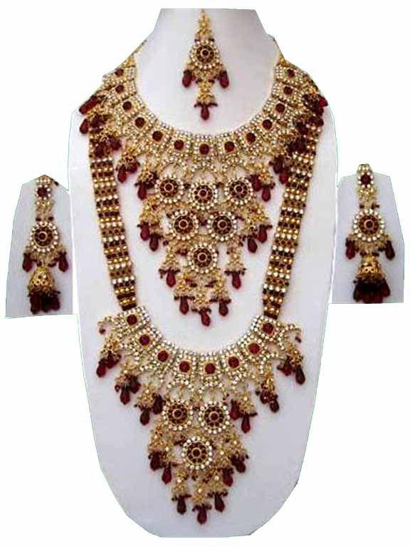 Indian Fashion Jewelry Set