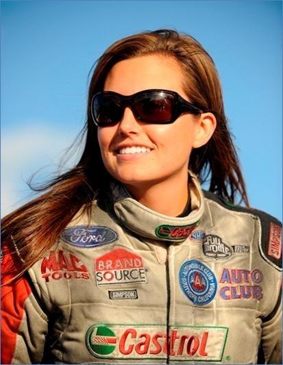 Ashley Force, NHRA funny car driver