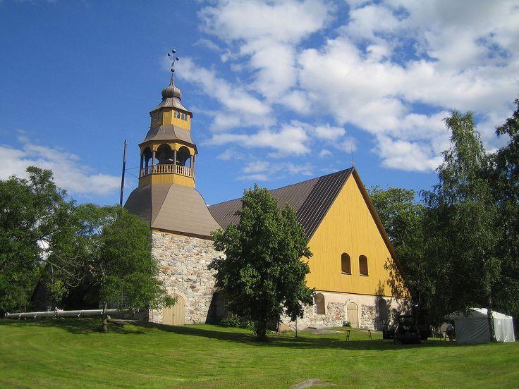 Uudenkaupungin vanha kirkko. UUSIKAUPUNKI OLD CHURCH
