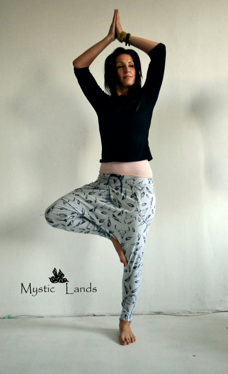 Baggy Pants, Yoga Pants, Loose Joggers, Harem Pants, Cropped Pants, Baggy Pants, Aladdin Pants, Sports Pants, Running Pants, Fitness Pants by MysticLands on Etsy