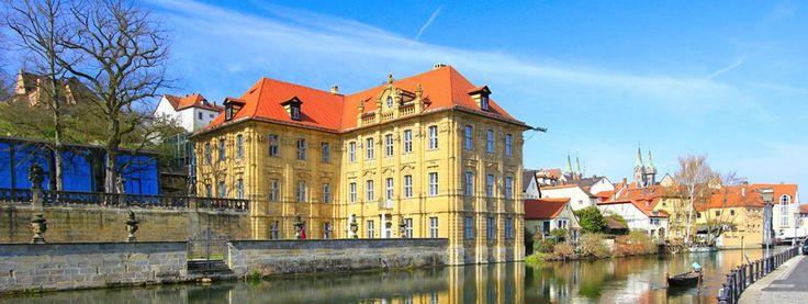 Wasserschloss Concordia Bamberg, Inselstadt