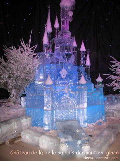chateau-de-la-belle-au-bois-dormant | sculpture de glace ...