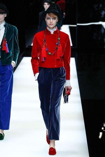 Giorgio Armani Autumn/Winter 2017 Ready to Wear Collection | British Vogue