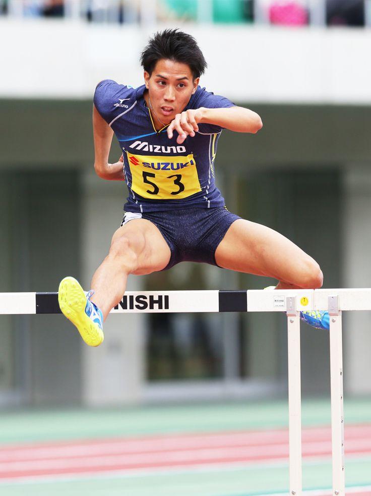 陸上ハードル、日本代表、松下祐樹選手。小田原市出身の松下選手に期待がかかる。リオデジャネイロオリンピック・リオ五輪2016