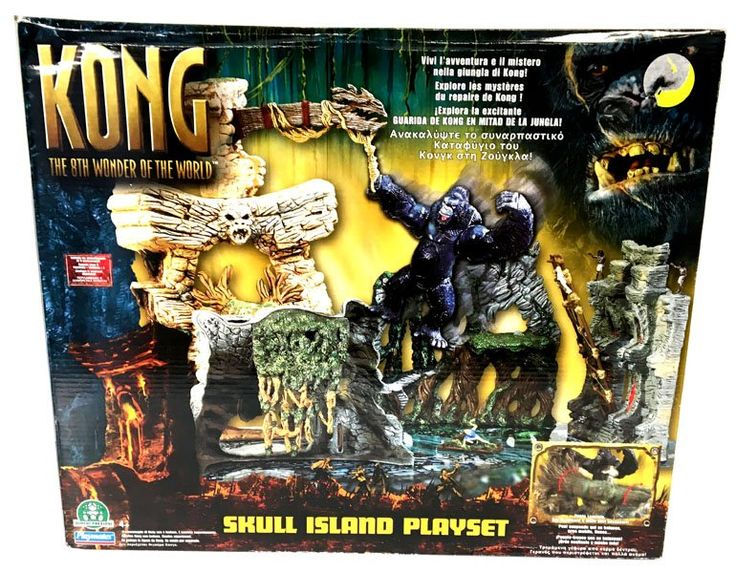 Kong: The 8th Wonder Of The World - Skull Island Playset  Playmates  King Kong www.detoyboys.nl
