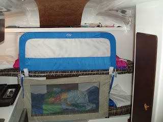 Bunk Bed Modifications For Baby And Toddler Tent Camping