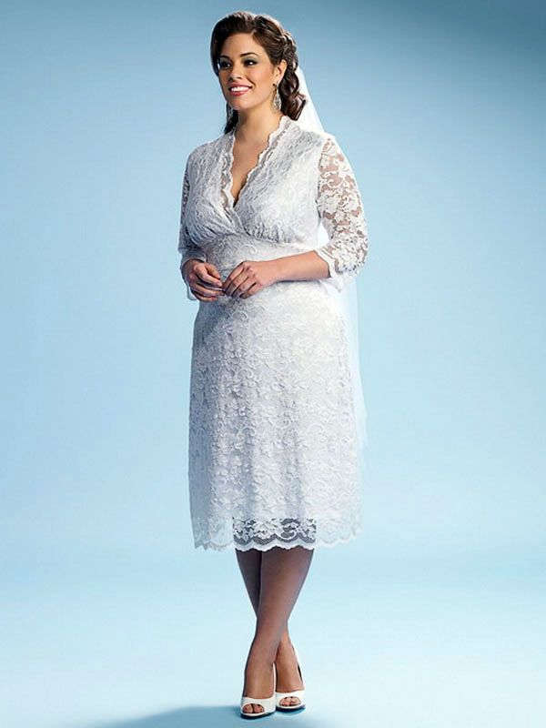 91 best Plus size wedding gowns images on Pinterest   Wedding frocks ...