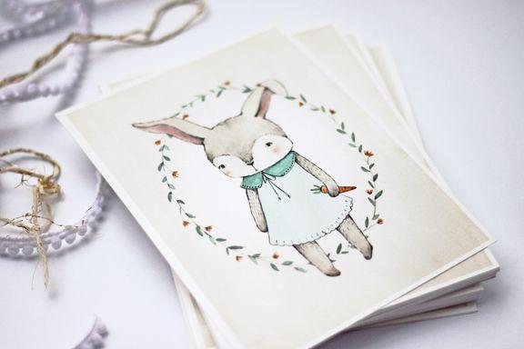 free easter bunny printable