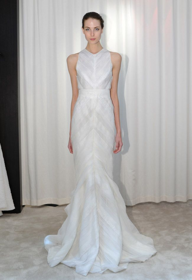 Lovely J Mendel Fall Wedding Dresses