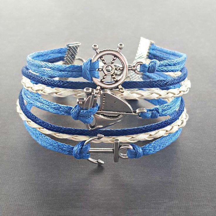 Zeilen sieraden anker armband nautische accessoires