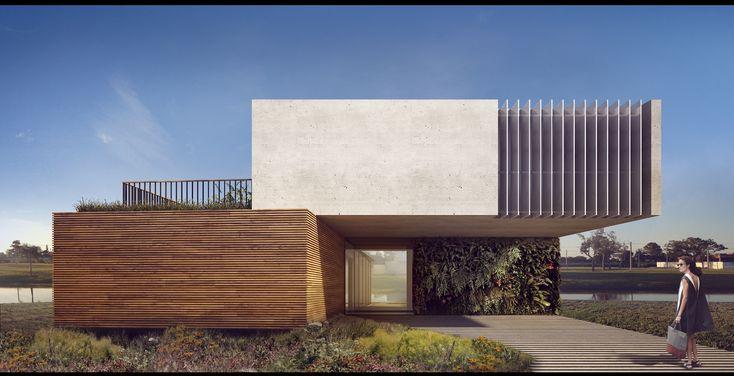 Casa Enseada - Arquitetura Nacional | planos e materiais