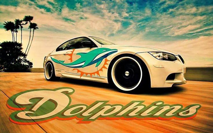 Miami dolphins car
