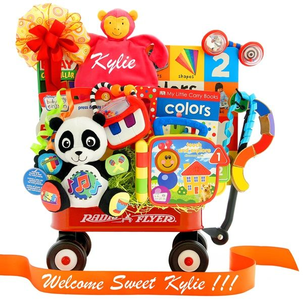 22 best 1st birthday gift ideas for a girl images on pinterest personalized baby einstein color me bright wagon what a great gift negle Image collections