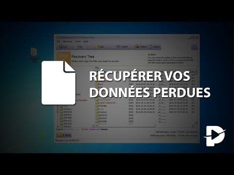 Récupérer les données perdues données d'un disque dur défectueux - YouTube