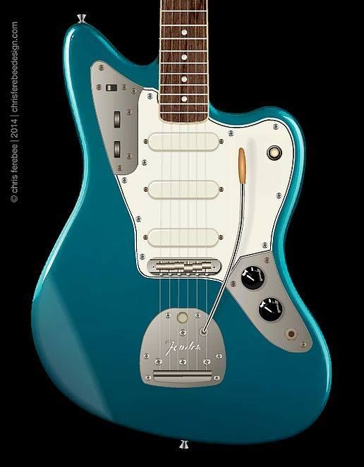 230 best fender jaguar images on pinterest tools body forms and fender jaguar mustang hybrid by luthier chris ferebee featuring triple single coil pups and sciox Images