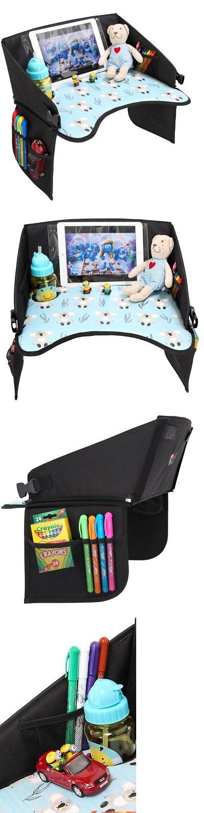 Car Seat Accessories 66693: Toddlers Carseat Travel Tray With Clear Tablet Pocket - Inclined Front Wall For -> BUY IT NOW ONLY: $33.93 on eBay!
