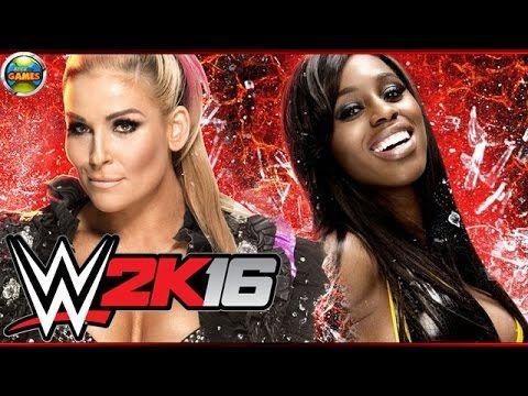 WWE 2k16 Natalya vs Naomi - Survival Series