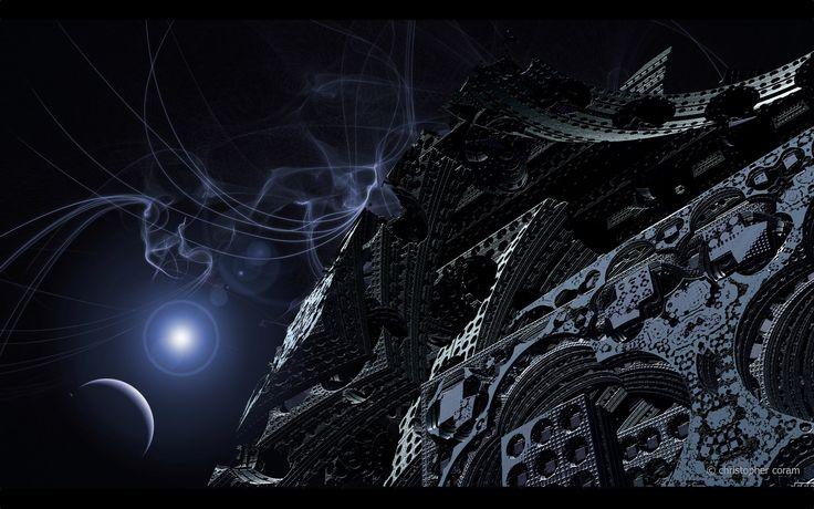 sci fi desktop nexus wallpaper 1920x1200