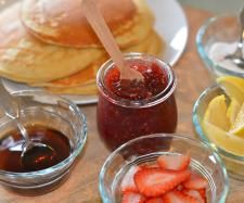 Recipe Thermomix Pancakes Tasty Filling Fluffy pancakes by Monica Falconer - Consultant - Recipe of category Basics