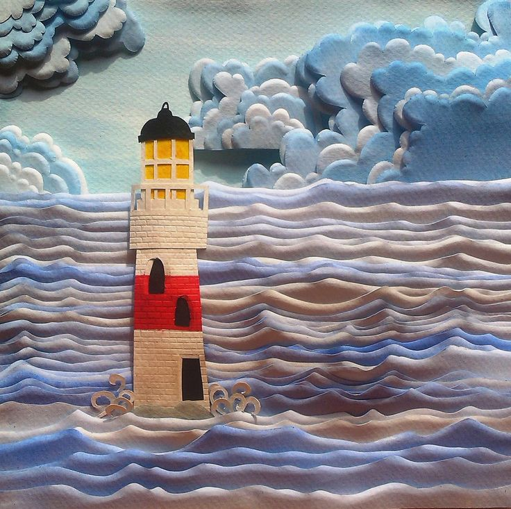 """Sea'in Mother Nature"" - Paper Sculpture"