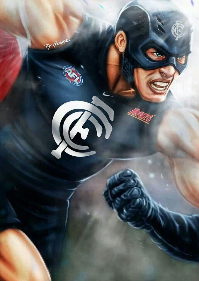 Captain Carlton : Mascot of the Carlton Football Club (The Blues)