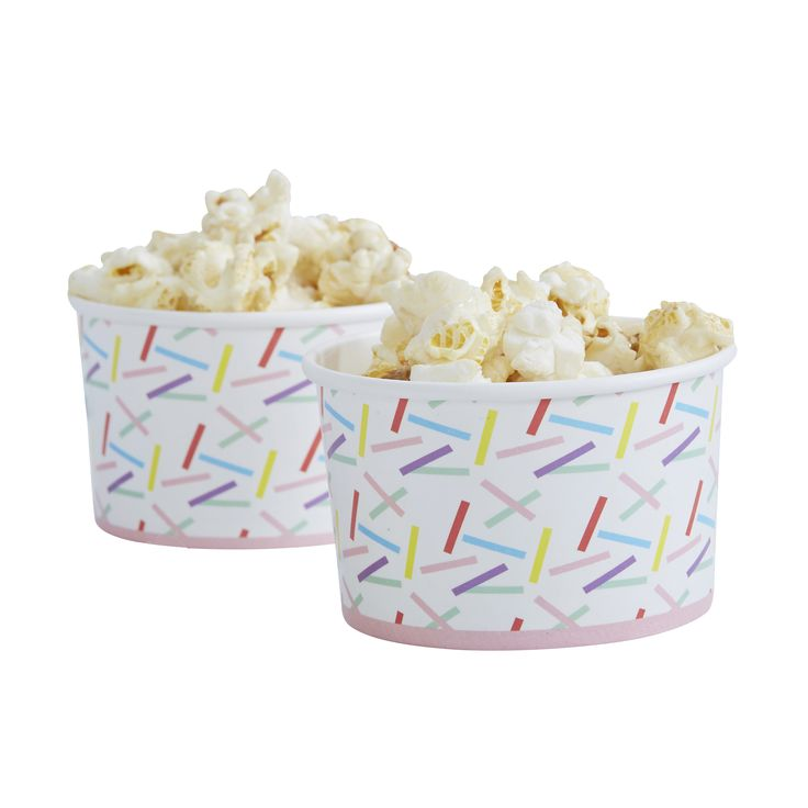 Streusel Design Party Ice Cream / Treat Tubs   – Products