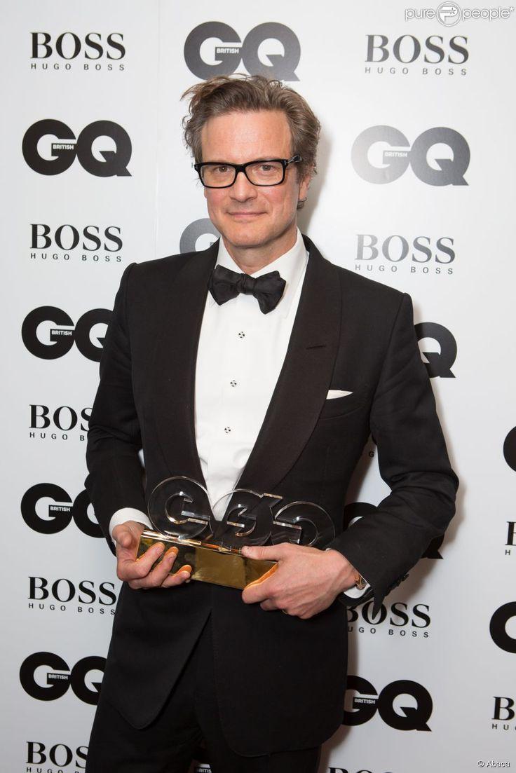 """Colin Firth lors de la soirée """"GQ Men of the Year Awards 2014"""" à Londres, le 2 septembre 2014."""
