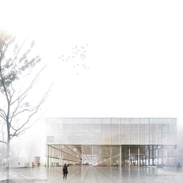 Gallery of 3 Winners Announced in Competition to Design the New Aarhus School of Architecture - 1