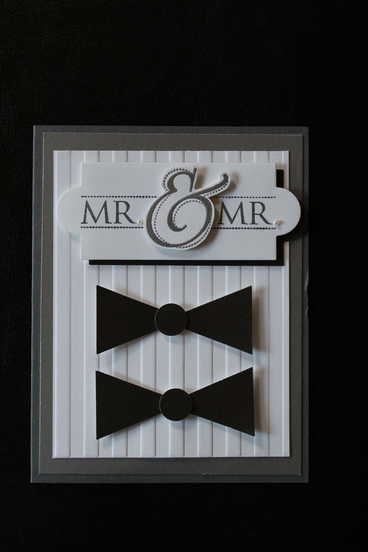 gay couples wedding gifts gay wedding bands Mr Mr Wedding card for the happy gay couple
