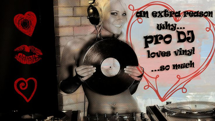 we like it oldschool... and extra reason why pro DJ music™ loves vinyls so much…