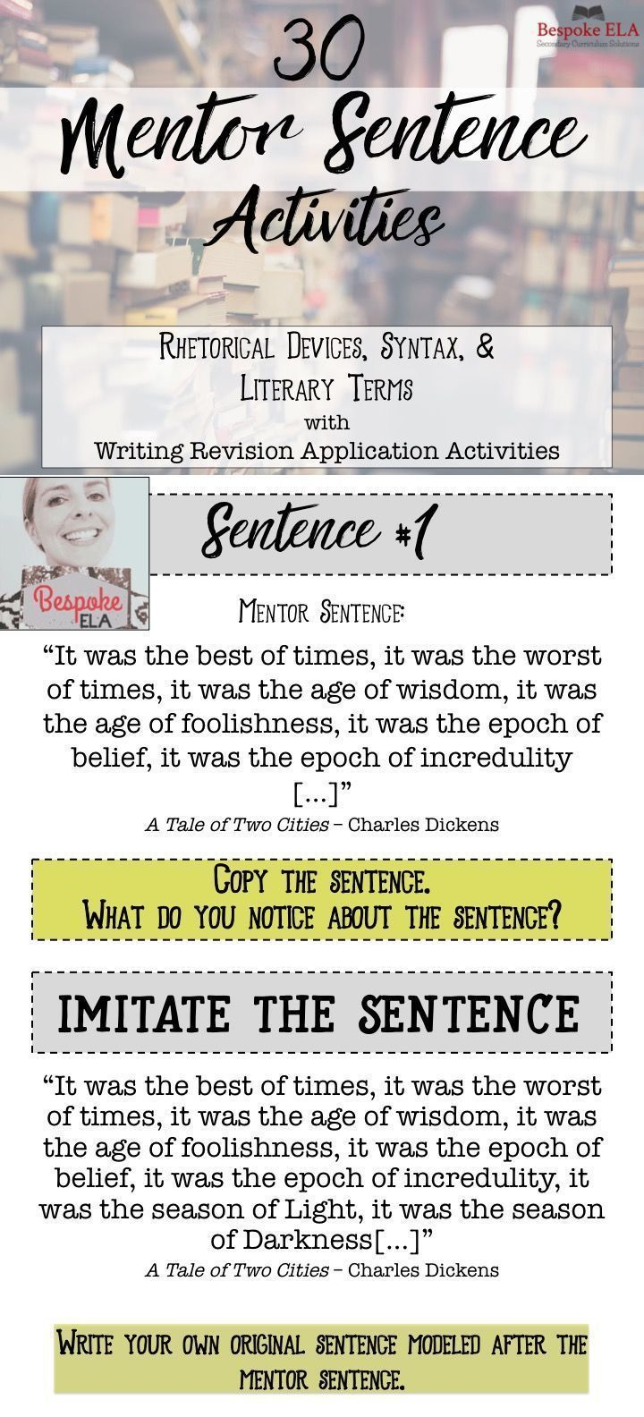 mentor texts for essays Writing expository essays resource id: tept0003  by studying a variety of essays (mentor texts),  mentor texts are exemplary models.